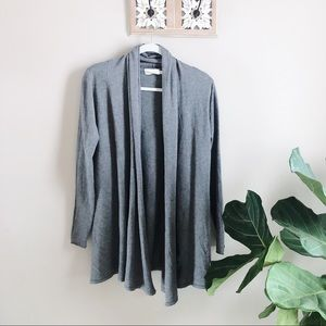 Dreamers Grey Duster Cardigan S/M NEW boutique 🛍